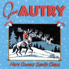 Found Up On The House Top by Gene Autry with Shazam, have a listen: http://www.shazam.com/discover/track/11149336