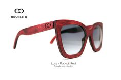 Lust - Padouk Red / Handmade Wooden Sunglasses / Made in Crete,Greece Wooden Sunglasses, 7 Deadly Sins, Handmade Wooden, Lust, Crete Greece, Red, Shopping, Collection, Fashion