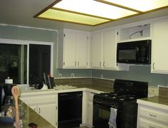 Replacing Fluorescent Lights in the Kitchen - Blog - New Life Bath & Kitchen