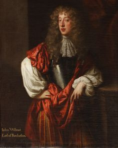 John Wilmot, 2nd Earl of Rochester (1647-1680)  This painting can be found upstairs undergoing conservation at the moment (06/08/13). {after Sir Peter Lely}