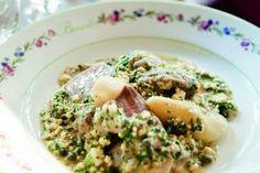 Tête de veau traditionnelle, sauce ravigote par Alain Ducasse