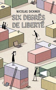 Six Degrés de Liberté cover illustration by Tom Gauld