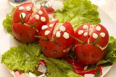Tomaten Marienkäfer