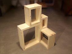 Beistelltisch Regal Sideboard shabby four elements von Holzmann