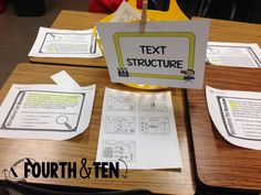 Testing Review Stations...perfect for state testing