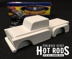 pinewood derby kit car boyscouts chevy c10 chevy 3100 by Fountain33 on Etsy