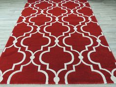 Turkish Moroccan Tile Design Rug  Size: 160 x 230cm