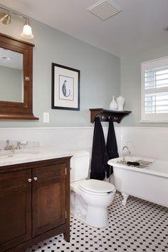 Really nice bungalow bath remodel. Denver Bathroom Remodel, Highlands, Siegrist