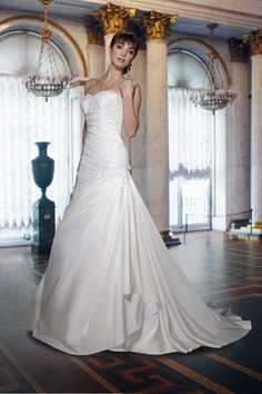 DaVinci 8361 Ivory size 12 In Stock Wedding Dress