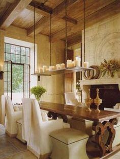 elegant and rustic