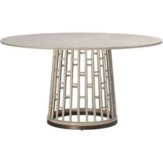 Buy Barbara Barry Fretwork Dining Table by McGuire Furniture - Quick Ship designer Furniture from Dering Hall's collection of Contemporary Dining Room Tables.