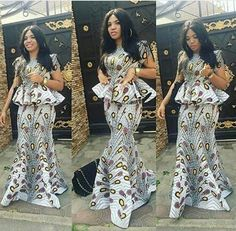 BellaNaija Weddings presents – Vol. 181 – The Latest Aso Ebi Styles African fashion African Fashion Ankara, Latest African Fashion Dresses, African Dresses For Women, African Print Dresses, African Print Fashion, African Attire, African Wear, African Women, African Outfits