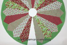 With a small investment of time, you can create a Christmas Tree Skirt that will showcase the center of your holiday decorations. Choose fat quarter cuts or use fabric from your stash to create the...