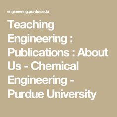 Chemical Engineering math au college