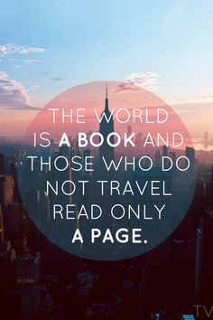 #travel, #quotes