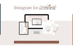 Instagram for Creatives, Instagram guide, Instagram done for you templates
