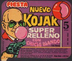 Kojak, el chupachups relleno de chicle!!! Ahora los comen mis hijos