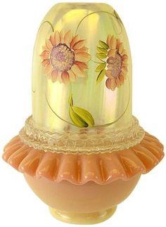 Fenton Art Glass Fairy Light