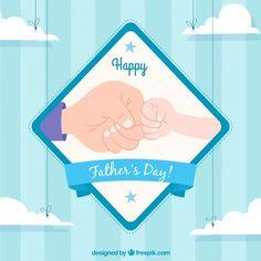 Fondo de feliz día del padre con choque ... | Free Vector #Freepik #freevector #fondo #tarjeta #amor #familia Daddy Day, Vector Freepik, Happy Fathers Day, Family Guy, Fictional Characters, Amor, Father And Son, Fist Bump, Red Pattern