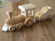 Many of today's collectors received their first toy train set when they were young, often as a Christmas or birthday present. Wooden Toy Train, Wooden Toy Cars, Metal Toys, Wood Toys, Wooden Projects, Wood Crafts, Wood Games, Classic Toys, Diy Toys