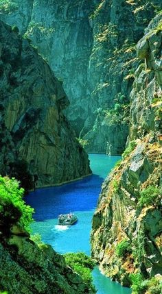 The Douro is one of the major rivers of the Iberian Peninsula, in Spain and in Portugal Places Around The World, Travel Around The World, Around The Worlds, Places To Travel, Places To See, Travel Destinations, Dream Vacations, Vacation Spots, Romantic Vacations