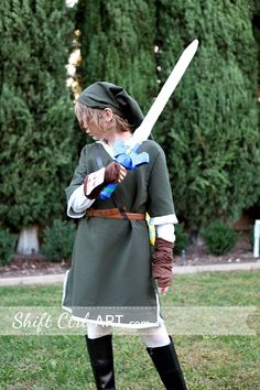 Make your own #Link from #Zelda #costume for #Halloween