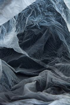 Magical Landscapes Created Within Plastic Bags by Vilde Rolfsen.