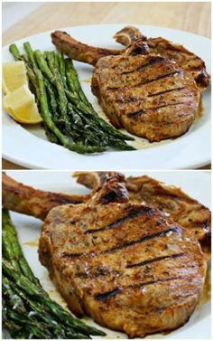 Grilled Pork Chops with Honey-Jalapeño Marinade combines a sweet but spicy marinade with salty pork chops, perfect for your next grilling adventure. | Culinary Hill