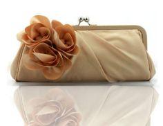 SIL082 Best Seller Almond Color Camellia Design Evening Purse Elegant Satin Handbag Fashion Bridal Clutch with Removable Chains Miss ZhuZhu,http://www.amazon.com/dp/B00E1MDHV2/ref=cm_sw_r_pi_dp_OEqptb0CX2BC48V7
