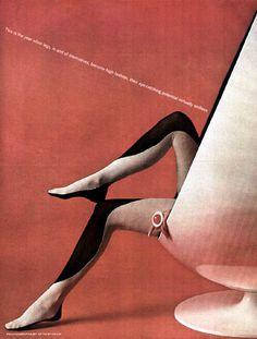 MOD Leg Art McCalls 6 pg Fashion Spread 1960s