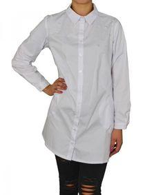 Γυναικεία Oversized πουκαμίσα Coocu λευκή με πέρλες 25904 #γυναικείαπουκάμισα #ρούχα #στυλάτα #fashion #μόδα #γυναίκες #βραδυνά #μεταξωτά Chef Jackets, Fashion, Moda, Fasion, Fashion Illustrations, Fashion Models