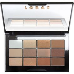 LoracNude Necessities Eye Shadow Palette