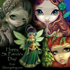 Happy St. Patrick's Day from Jasmine Becket-Griffith.