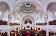 Synagogue - interior ( Photo by Milan Uljmanski) Byzantine Architecture, Novi Sad, Interior Photo, Barcelona Cathedral, Milan, Flower Aesthetic, Image, Nature, Travel