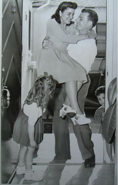 A couple who met overseas during WWII finally return home to America.