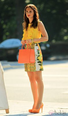 A sherbet colored outfit for summer. ~REB