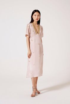 214 € Every detail in this dress was handmade by artisans. Enjoy the pleasure of wearing a unique piece. Artisan, Shirt Dress, Clothes For Women, Detail, Unique, How To Wear, Handmade, Shirts, Shopping