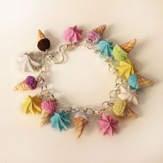 Hey, I found this really awesome Etsy listing at https://www.etsy.com/listing/200317584/ice-cream-bracelet-sweet-bracelet-kawaii