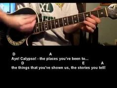 Learn how to play Calypso by John Denver guitar lesson tutorial.