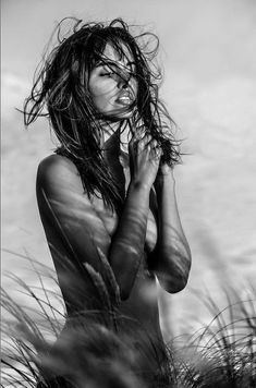 Wild Is The Wind, Wind Of Change, Girls With Flowers, Futuristic Cars, Close My Eyes, Black N White Images, Beauty Photography, Black And White Photography, Color Splash