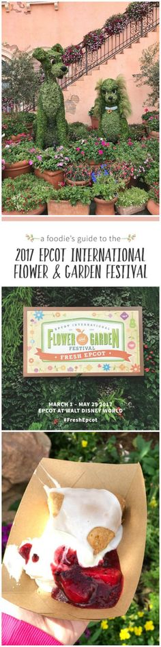 Foodie�s Guide to the 2017 Epcot International Flower and Garden Festival features festival highlights and foodie favorites.  Download a free printable guide featuring unique Disney topiaries, gardens and delectable meals from around the world!