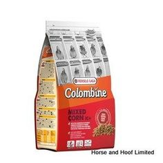 Versele Laga Colombine Mixed Corn Pigeon Food I C 2kg Versele Laga Colombine Mixed Corn I C is a super easy to digest mixture of pellets which are an ideal supplement to the pigeons diet if they are under nourished.