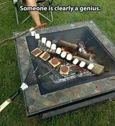 Smores - easy for a lot of people