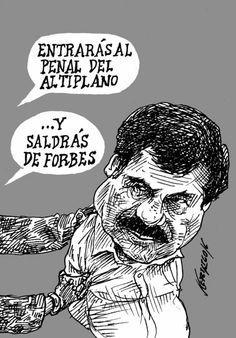 """Intercambio de lugares... En el cartón de #Nerilicón: """"Condena""""   El Economista"""