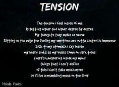 """""""Tension"""" #Creative #Art in #poetry @Touchtalent http://bit.ly/Touchtalent-p"""