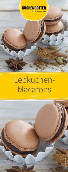 Recipe for gingerbread macarons for Christmas The post Gingerbread macaroons appeared first on Daisy Dessert. Homemade Christmas Cookie Recipes, Christmas Sugar Cookie Recipe, Cookie Recipes For Kids, Gluten Free Cookie Recipes, Healthy Cookie Recipes, Oatmeal Cookie Recipes, Chocolate Cookie Recipes, Cupcake Recipes, Chocolate Desserts