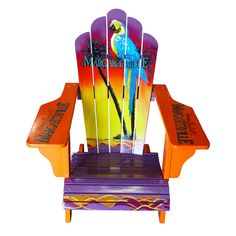 margaritaville hand painted adirondack chair Cars For Sale