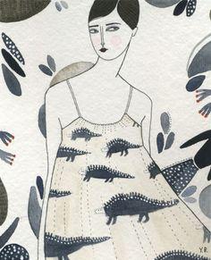 Eloise - Yelena Bryksenkova's Illustration http://bakerartistawards.org/nomination/view/yelenabryksenkova