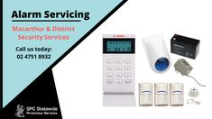 We Cover All Aspects of Your Security Needs Security services, CCTV and alarms in Springwood, Penrith, Blue Mountains, Lithgow and Macarthur, Campbelltown and Camden areas.