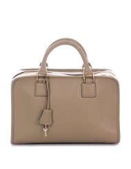 ***B-WARE/FAULTY*** ROUVEN Taupe & Gold AVELLE BOSTON BOX Bag Handtasche
